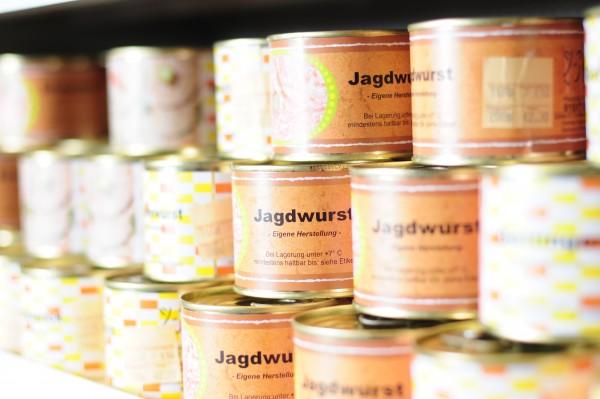 Jagdwurst-Dose