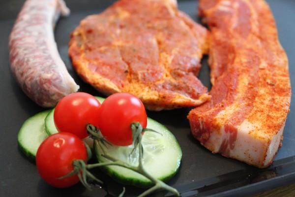 Grillpaket Schwein für 1 Person